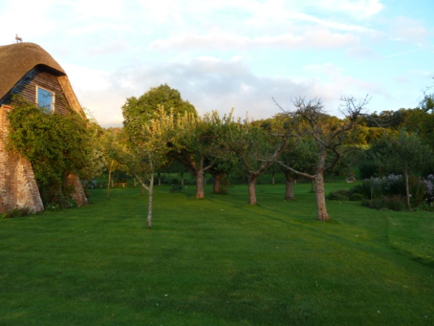 Apples, bank notes and a garden at BereMill